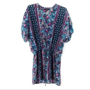 Tolani Silk Dress or Swimsuit Cover Up Small